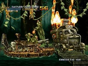 metal slug 3 for XBLA - gameplay