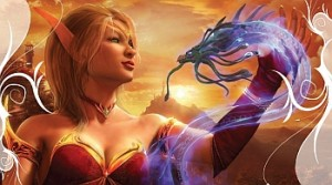 Blood Elf concept art - Blizzard