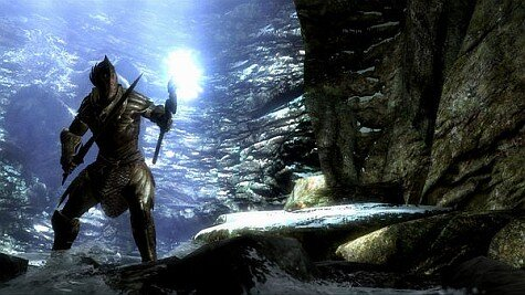 skyrim screenshot - dynamic lighting
