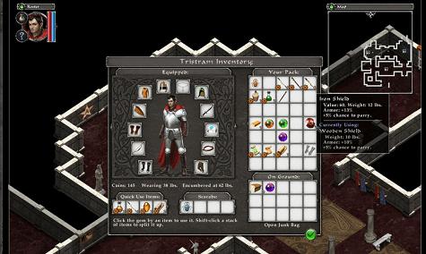 avadon black fortress screenshot