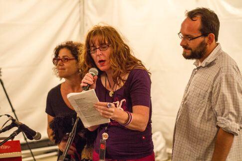 Celia Pearce, Stephanie Barish, Sam Roberts