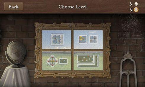 quell reflect - level selection screen - screenshot