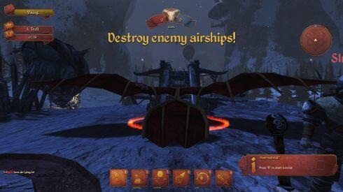 Air Buccaneers - glider start screenshot