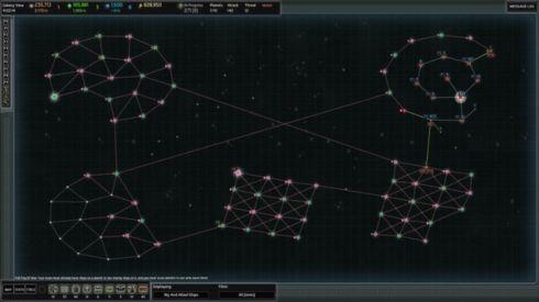 AI War Ancient Shadows fleet configurations screenshot