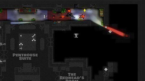 Monaco game screenshot - the Redhead is irresistable