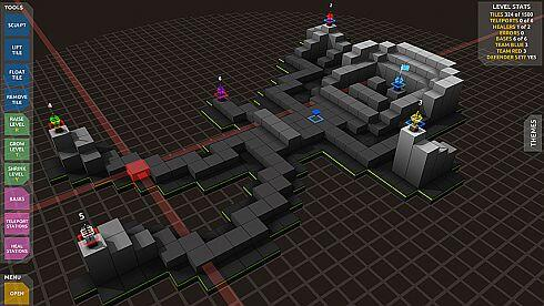 cubemen 2 - level editor screen
