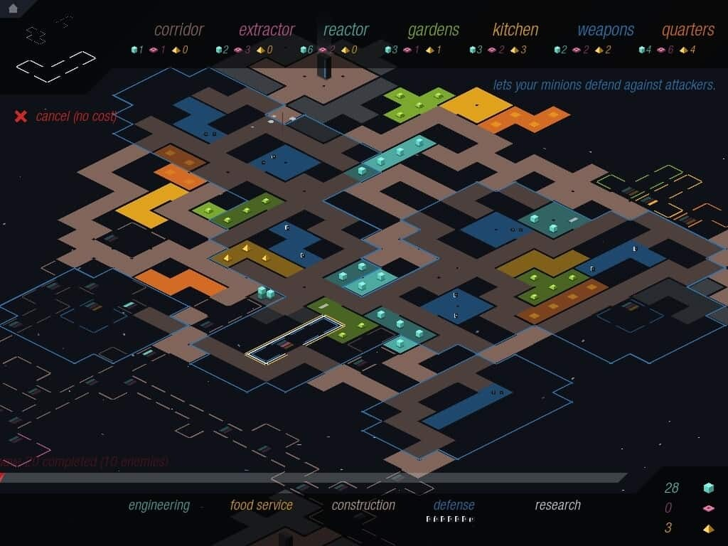 Rymdkapsel screenshot: It's about location, location, location...