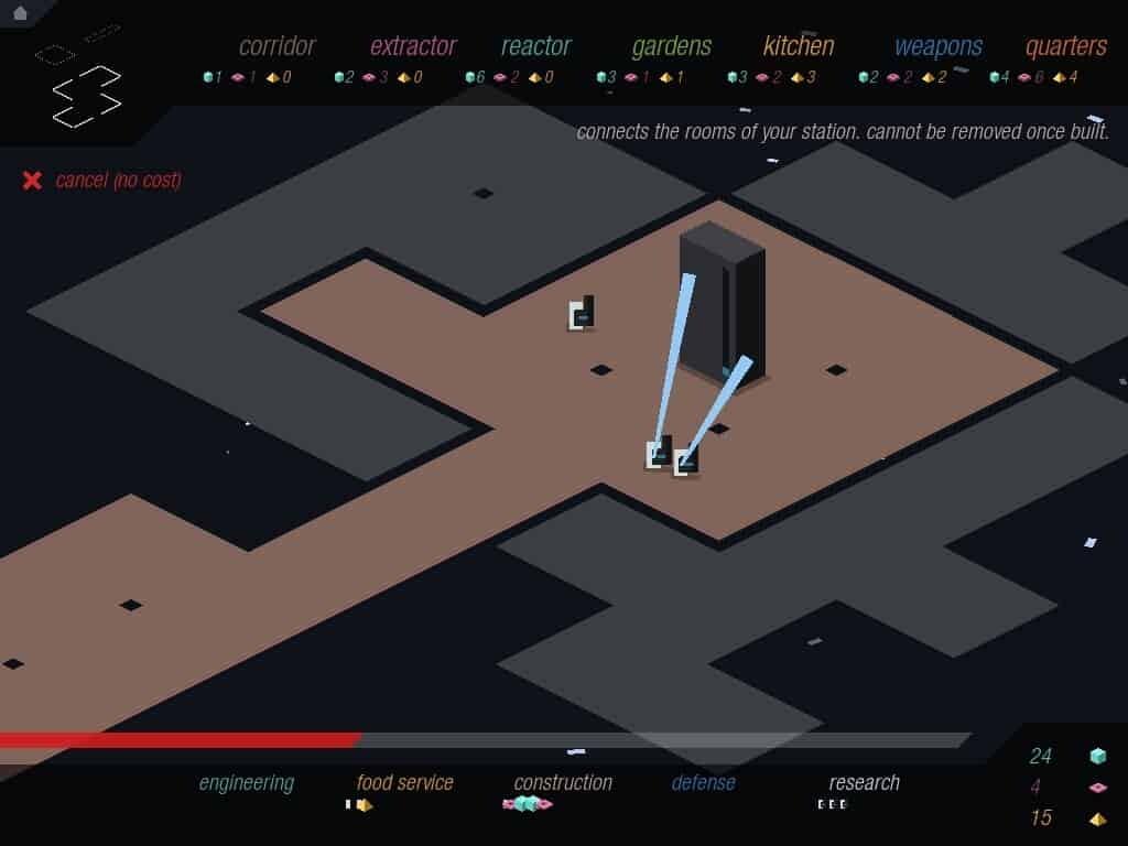 Rymdkapsel iOS game screenshot - research
